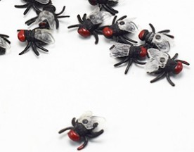 April Fool's Day props Novelty Lifelike Plastic Fly Realistic Fake Rubber Poop Shit funny Tricky Joking scary Gag Toys HalloweenNovelty & Gag Toys