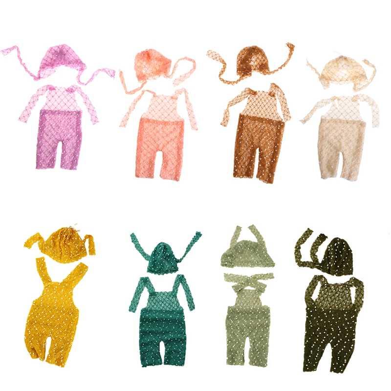 Вязать реквизит для съемки детей мягкие трикотажные мохеровая шапочка Кепки и брюки костюм реквизит для фотографии новорожденных