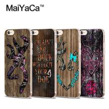 MaiYaCa Colorful camo browning wood Transparent TPU Soft Cell Phone Protective Cover For iPhone 4s 5s 6s 7 7plus case(China)