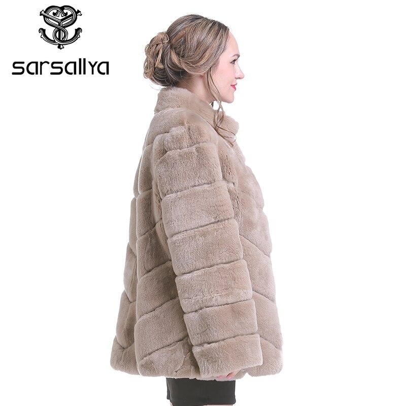 Doudoune Court rose camel Sarsallya Royal Pour Nouvelle Fourrure Style Hiver Femmes Bleu Les De Véritable Femme Manteau Lapin qtX1wnraX