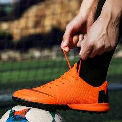 Homens Sapatos De Futsal Futsal Alta Top Adultos Magista Chuteiras de futebol TF Sapatos De Futebol para Meninos Crianças Botas De Futebol Tornozelo 2019