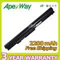 Apexway 14.8 v bateria do portátil para hp pavilion 14 15 série 350 la04 hstnn-ub5m hstnn-ub5n hstnn-y5bv tpn-q129 tpn-q130 tpn-q131