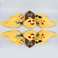 Unisex Slippers Funny Face Expression Cute Soft Emoji House Slipper Women Comfortable Home Indoor Shoe Female