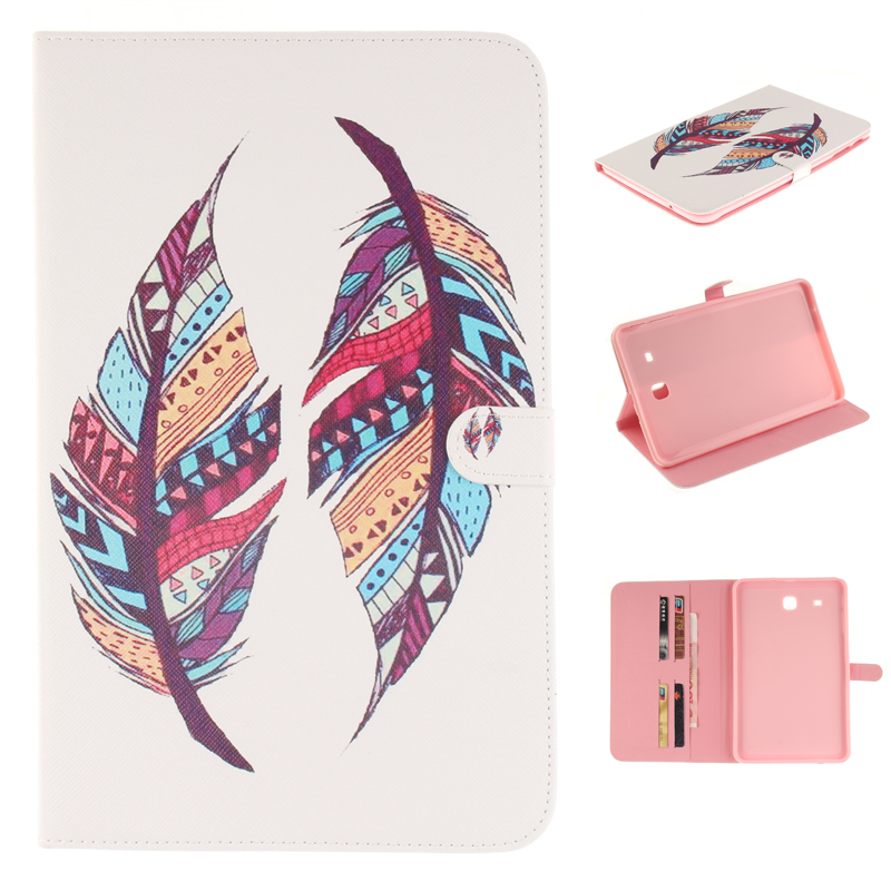 for coque Samsung Galaxy Tab 4 10.1 Case Cover for fundas Samsung Galaxy Tab 4 10.1 T530 T531 Cover with Stand Card Holder