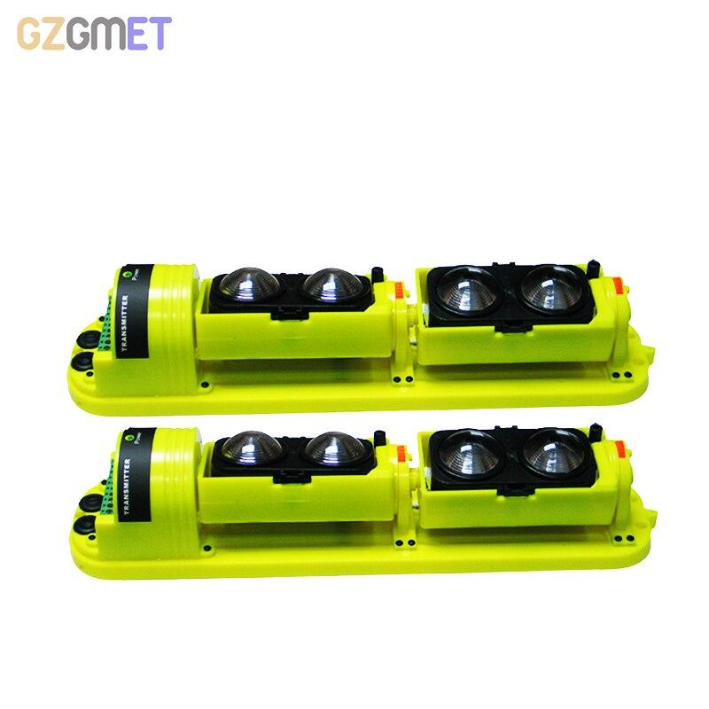GZGMET À Prova D' Água 250 Metros RI 4 Feixe Fotoelétrico Sensor Infravermelho Barreira Detector para Sistema de Alarme Home Detector Ao Ar Livre