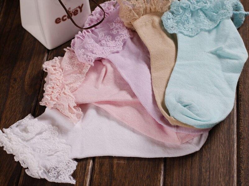 HTB1rPt sgZC2uNjSZFnq6yxZpXaT - Retro Pink Lace Ankle Ruffle Socks Women Ladies Girl Fashion Vintage