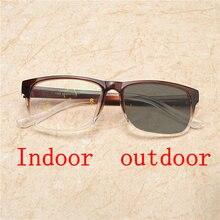 855bf80d2d Mujeres Hombres lente Multifocal progresiva gafas de lectura hombres  Presbyopia Hyperopia Bifocal gafas de sol fotocromáticos ga.