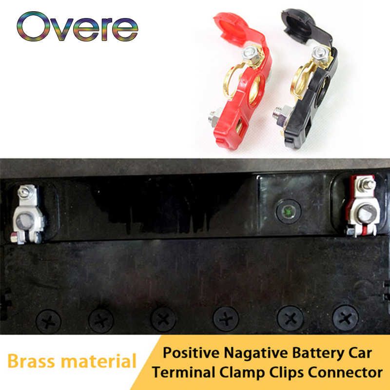 Overe 1set Car Battery Cut Off Protection Switch Clip Clamp For Mercedes W205 W203 Volvo Xc90 S60 Xc60 V40 Alfa Romeo 159 156