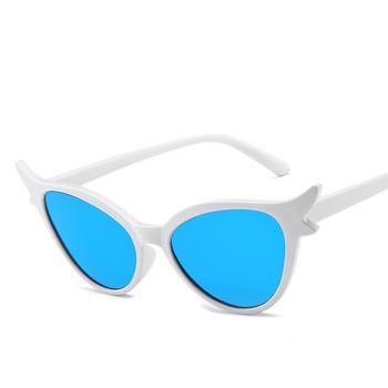 Popularne okulary przeciwsłoneczne kocie oczy damskie Leopard kolorowe okulary przeciwsłoneczne damskie seksowne modne okulary słoneczne damskie stylowe okulary przeciwsłoneczne Cateye tanie i dobre opinie curtain Kobiety Z tworzywa sztucznego Cat eye Lustro Gradient Fotochromowe Antyrefleksyjną UV400 Dla dorosłych MN5199