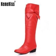 Бесплатная доставка колено сапоги женщин моды снег зима обувь клин обувь сексуальная теплое длиннее загрузки P8682 EUR размер 29-48