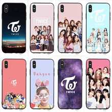 Pattern Twice Mina Momo Kpop Phone Cover for iPhone X Case 6 6S XR Xs Max 8 Plus 7 5S 5 SE Shell стоимость