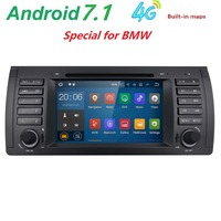 Android 7 1 For BMW 5 Series E39 E53 X5 M5 Autoradio Vehicle Single Din 7