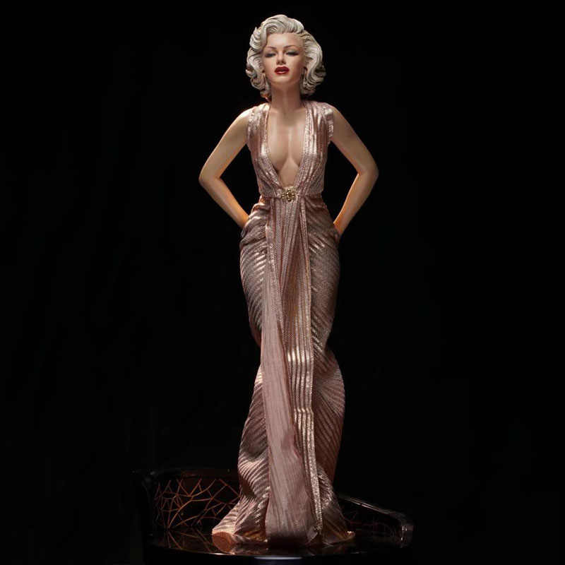 93e585348e Collection 1/6 Scale Marilyn Monroe Rose Black Skirt Clothing for ...