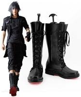 Original Final Fantasy XV FF15 Noctis Lucis Caelum Noct Sapatos Cosplay Anime Botas Quentes do Dia Das Bruxas Feito de Alta Qualidade