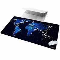 CENNBIE Gaming Mouse Pad Extended & Super Large Desk Pad with Special Textured Surface (100x50cm Map)