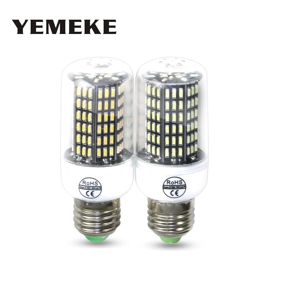 4Pcs LED Corn Bulb Lamp 4014 SMD No Flicker LED Spotlight Bulbs E27 E14 220V LED Lamp 38 55 78 88 140LEDs Smart Power IC бра leds c4 umbrella 05 1387 88 55