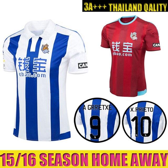 camisetas de futbol Real Sociedad futbol