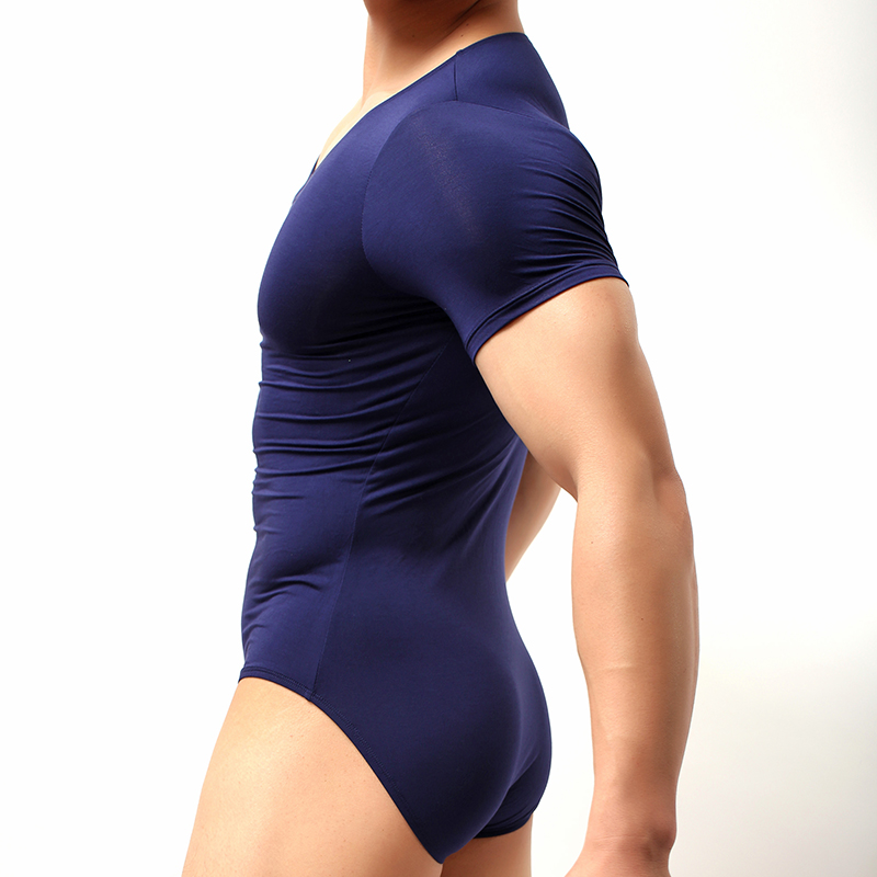 b3f67395267 Shapewear Underwear For Man Men Sexy Modal Bodybuilding Bodysuit Male  Spandex Slimming Wrestling Body Shaper-in Shapers from Underwear    Sleepwears on ...