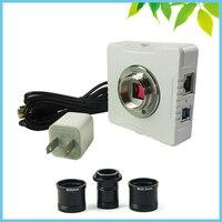 WI FI 5MP электронный микроскоп Видео Камера Беспроводной цифровой окуляр CMOS с C переходное кольцо для Win10/7/Win8