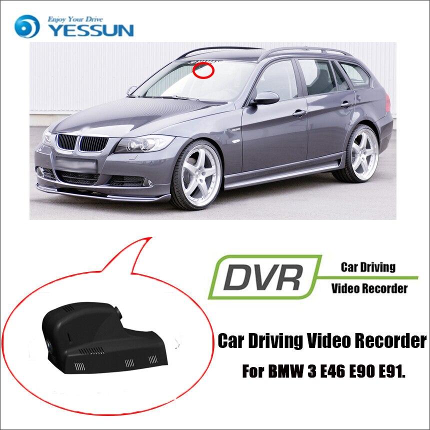 Dvr/dash Camera Well-Educated Yessun For Bmw 3 E46 E90 E91 Car Dvr Mini Wifi Della Driving Video Recorder Novatek 96658 Car Dash Cam Front Camera Online Shop