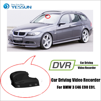 YESSUN for BMW 3 E46 E90 E91 Car Dvr Mini Wifi della driving video recorder Novatek 96658 Car Dash Cam Front camera image
