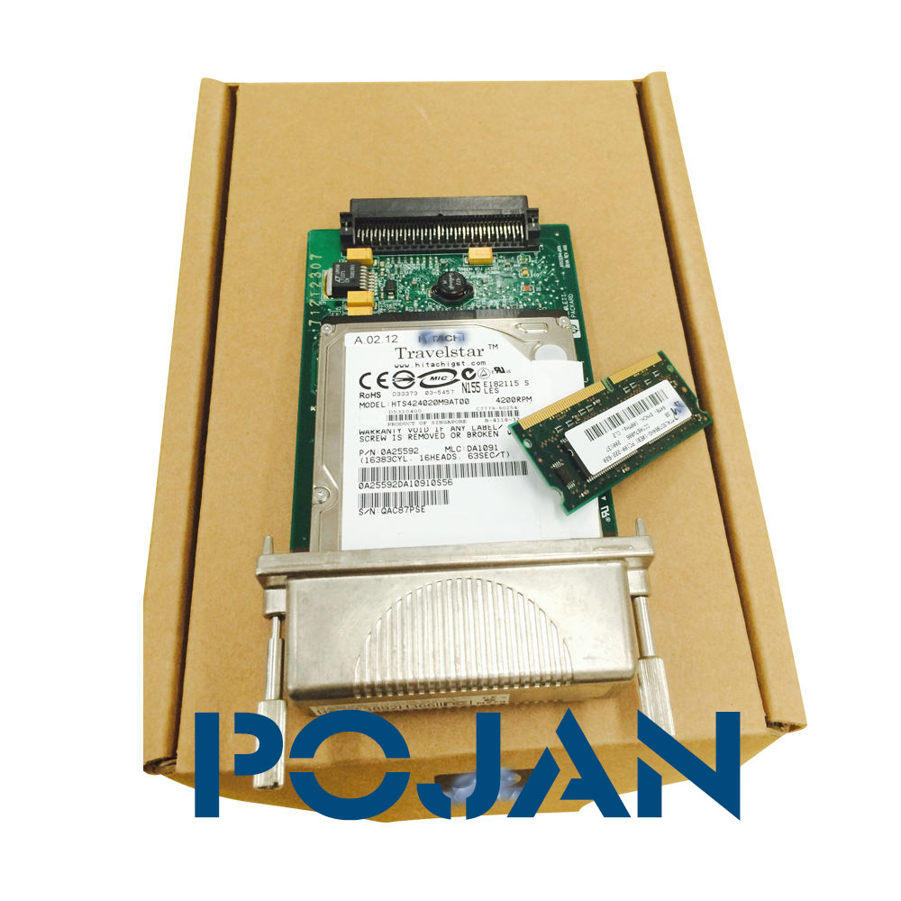 C7779-69272 C7769-69260 DesignJet 800 PS Formatter Board Card +HDD+128MB Fixes 05:09 05:10 Main board GL2 card plotter parts furla furla 821693