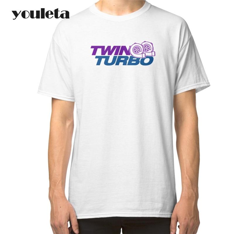 2018 Fashion Tee Honda NSX T Shirt Men Short Sleeve Cotton T Shirts Drive Hard O-Neck Men Clothing Tops Twin Turbo White Tees