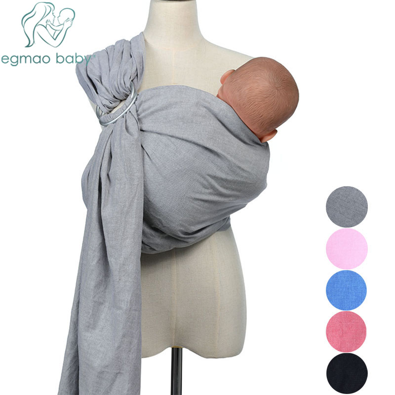 80% Line Fabric Breathable Baby Ring Sling Carrier Soft Baby Wrap For Newborns Best Shower Gift For Girls & Boys