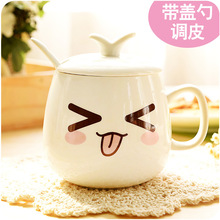 2016 New fashion design cute cartoon patton coffee mulk cup