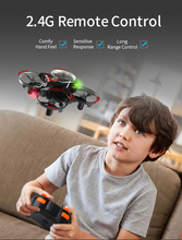 Durable Three-Colored Infrared Sensing RC Quadcopter