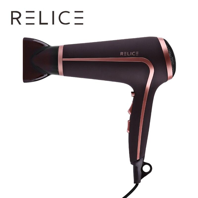 Hot! RELICE HD-301 D'air Froid Sèche-Cheveux Professionnel Puissant Sèche-Cheveux Puissance 2200 w Cheveux Accessoires 220 v