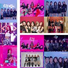 Carteles ITZY Kpop cantantes coreanos papel brillante imprime Imagen Clara Color vivo decoración del hogar envío gratis