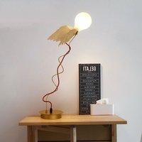 Scandinavian Creative Table Lamp Decor Designer Angel Wings Desk Lamp LED Bedside Lights Art Standing Lamp Home Decor Luminaire