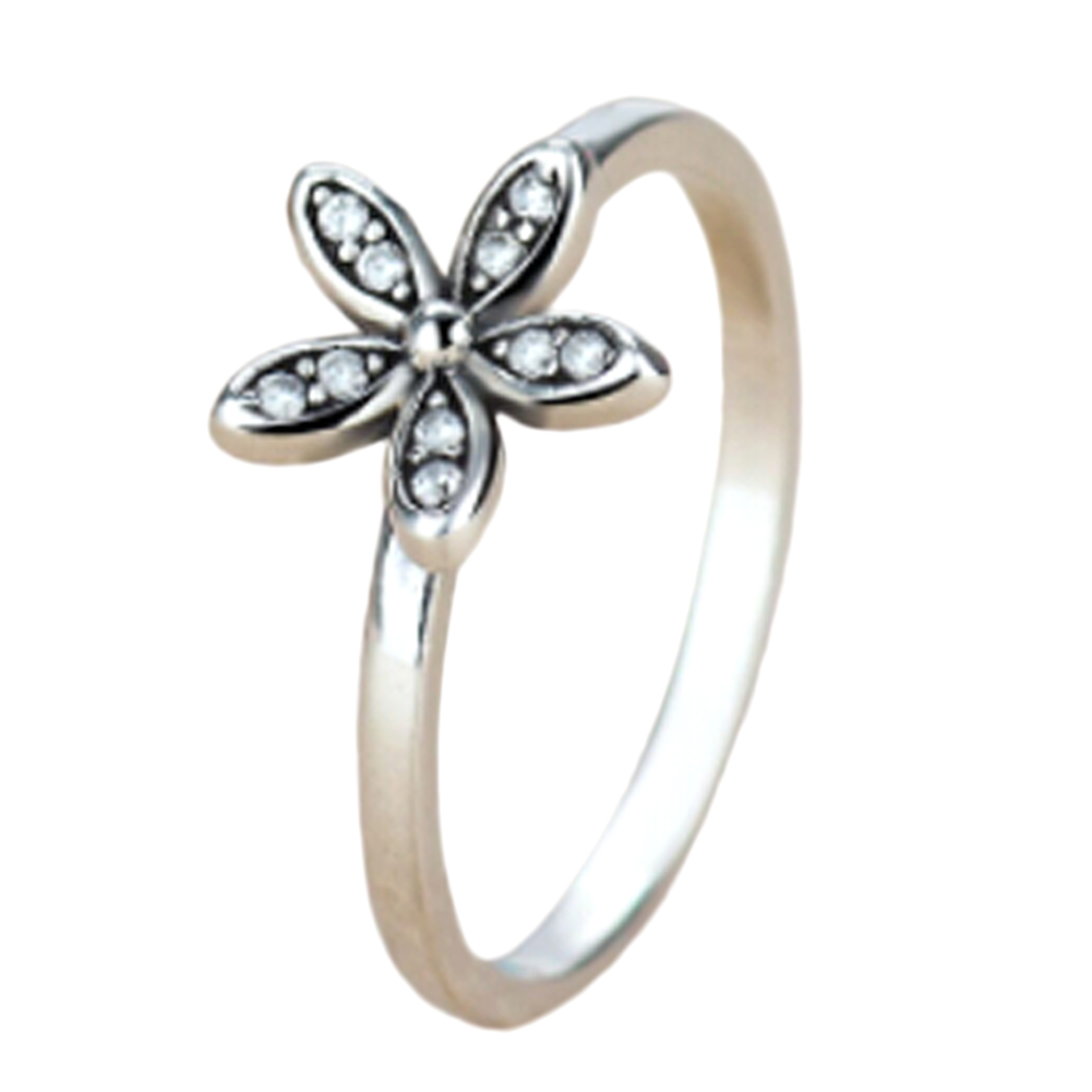 2017 silver color crystal daisy flower ring for women party jewelry 2017 silver color crystal daisy flower ring for women party jewelry for valentines day gift in rings from jewelry accessories on aliexpress alibaba izmirmasajfo Image collections