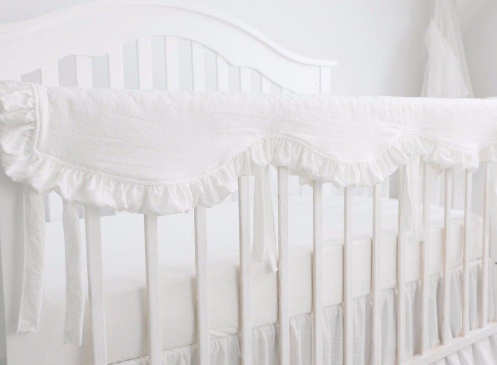 ZOYLINK 3PCS Baby Krippe Schienenabdeckung Set Baumwolle Krippe Protector Wrap Kinderkrankheiten Schutz Wrap