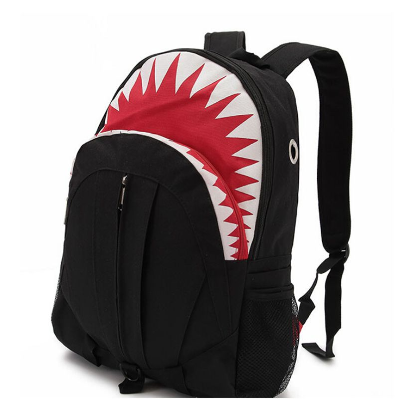 Bape Shark Backpack >> Vogue Star 2019 Free Shipping Hot Sale Children Fashion Shark