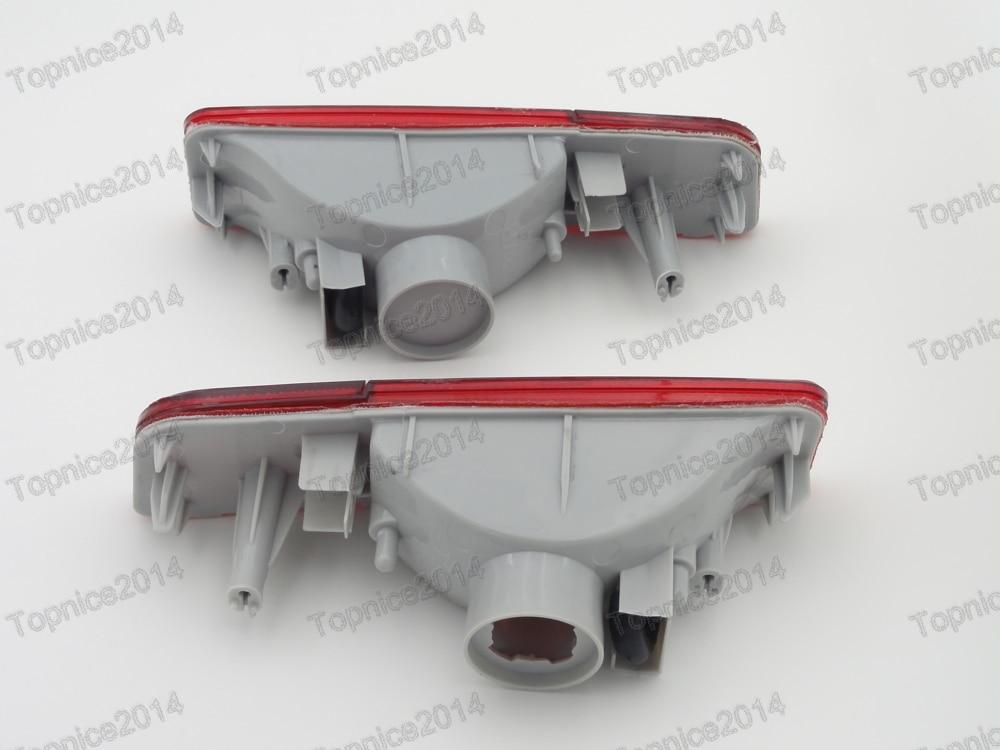 1Pair stražnja svjetla za maglu, svjetla za maglu, zadnja svjetla, - Svjetla automobila - Foto 2