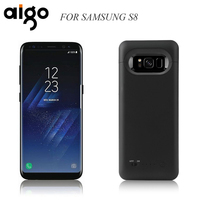Aigo 5000mAh Battery Charger Case For Samsung Galaxy S8 External Battery Pack Backup PowerBank Charging Cover