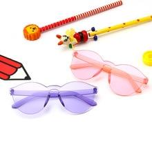 MINCL очки детские новые анти-отражающие Стекла УФ защитный свет очки для маленьких мальчиков и девочек милые овальные рамки ребенок NX