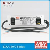Orijinal ORTALAMA KUYU ELG-150-C2100B 2100mA 36 ~ 72 V 150 W PFC LED Güç kaynağı IP67 karartma LED sürücü ELG-150-C su geçirmez