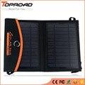 Dobrável painel solar dobrável saco carregador de energia solar bateria externa portátil usb móvel celular carregadores para iphone celulares mp3 gps