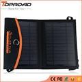 Plegable plegable bolsa de células solares del panel solar de la batería externa cargador portátil usb móvil cargadores para iphone teléfonos móviles mp3 gps
