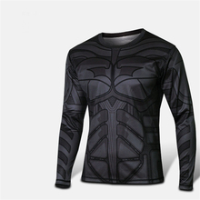 2015 eunning tshirt Comic Marvel Deadpool T shirt Costume Compression Sportswear Superhero Fitness Camisetas Masculinas Quick Dr