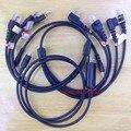 Bekeenon многофункциональный 8 в 1 usb кабель для программирования для kenwood baofeng hyt motorola yaesu icom walkie talkie автомобильный радиоприемник и т. д.