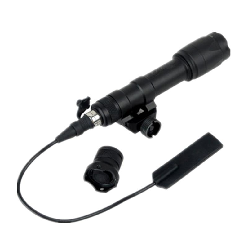 interruptor de pressao remoto tactical lanterna m600c scoutlight led versao completa preto tan