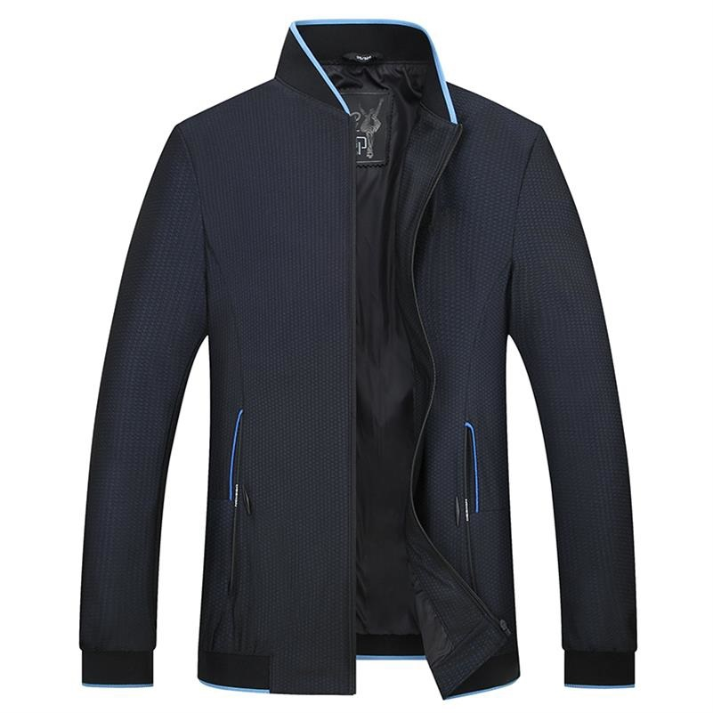 Large <font><b>Size</b></font> Clothing <font><b>5XL</b></font> <font><b>8XL</b></font> <font><b>7XL</b></font> <font><b>6XL</b></font> Autumn Dress Suit Jacket Fashion Coats Male Windbreaker Casual Oversize Jacket Men's Classic image