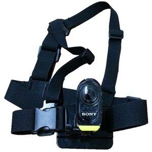 Image 3 - חזה רצועת הר החגורה עבור Sony AS15 AS20 AS30 AS50 AS100 AS200 AS300 רוזוולט X1000 X1000V X3000 X3000R AZ1 מיני POV פעולה מצלמה