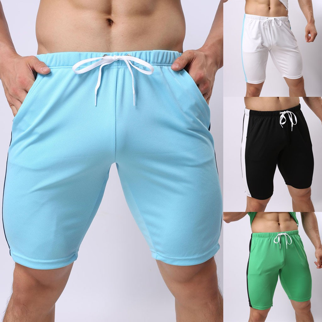 Sport Sweatpants Quick-Drying Summer Casual Comfortable Coloured Leisure Section Men