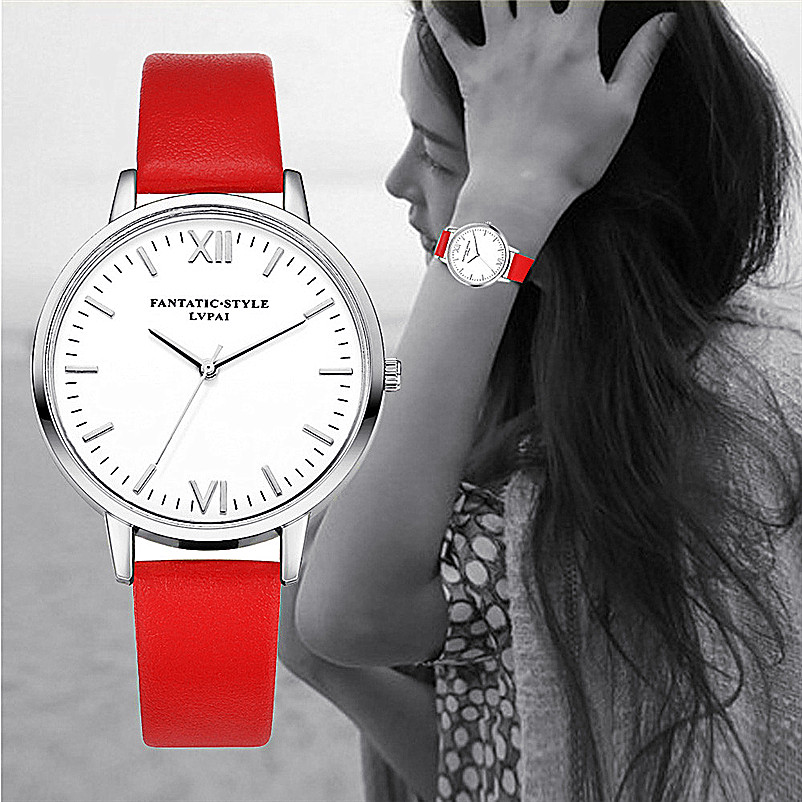 Lvpai Fashion Watches Women Retro Design Leather Band Analog Alloy Quartz Wrist Watch erkek kol saati best gift fabulous 1pc new women watches retro design leather band simple design hot style analog alloy quartz wrist watch women relogio