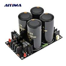 AIYIMA 120A усилитель, выпрямитель, фильтр питания, плата питания, высокая мощность, выпрямитель Шоттки, фильтр, блок питания, 10000 мкФ, 125 В